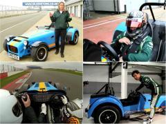 重さ545kg、300馬力オーバーのケーターハム 620Rで小林可夢偉が激走!