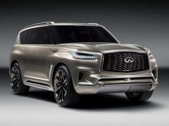 日産、インフィニティの高級SUV「QX80モノグラフ」の画像を公開