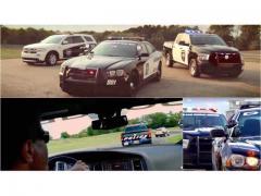 アメリカは警察車両のプロモーションにも力が入っています