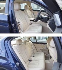 BMW 5シリーズ(インテリア)