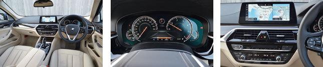 BMW 5シリーズ(コックピット1)