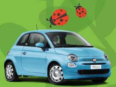フィアット、「500」にてんとう虫をモデルにした特別限定車