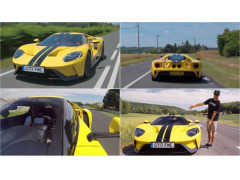 快速! ケン・ブロックが、フォードGTの量産試作をフランスでテストドライブ!