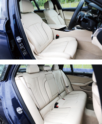 BMW 5シリーズ ツーリング(インテリア)