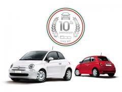 フィアット、「500」の誕生10周年を記念して限定車を日本で発売