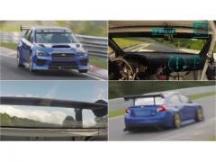 手汗脇汗MAX車載動画! スバル WRX STIがニュルでセダン最速6分57秒578記録!