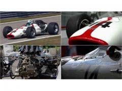 ホンダ最初のF1優勝マシン RA300が50年ぶりにモンツァを走る!