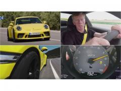 70歳の名ドライバーが、新型911 GT3でドライビングを伝授