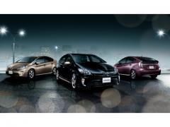 【トヨタ】プリウスPHVとプリウス特別仕様車にゴールド色を販売2014