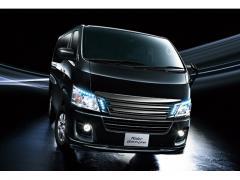 【日産】NV350キャラバンに特別仕様車ライダー ブラックライン2014【価格】