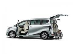 【トヨタ】福祉車両「ウェルキャブ」シリーズに「助手席回転チルトシート車」が追加