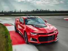 GM、「シボレー カマロ ZL1」をニューヨークで発表