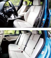 BMW X4 M40i(インテリア)
