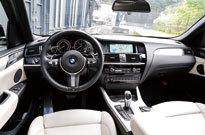 BMW X4 M40i(コックピット)