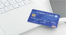 ネットでカンタン決済!カードをはじめ、支払方法が充実!