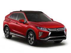 三菱自動車、新型コンパクトSUV「エクリプス クロス」の概要を発表