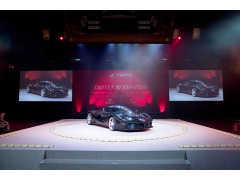 11億円落札のラ フェラーリ アペルタが土俵に! フェラーリ70周年イベントが国技館で開催