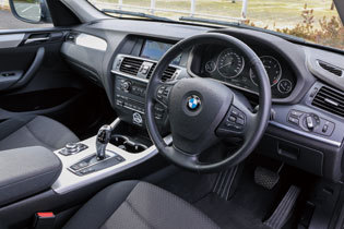 BMW X3 コックピット