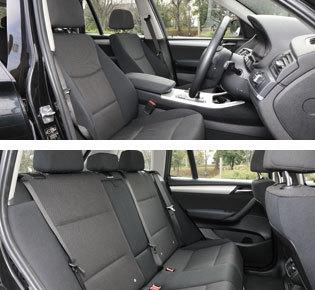 BMW X3 内装