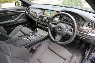 BMW 523i コックピット