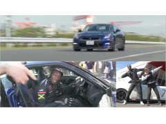 ウサイン・ボルトがGT-Rの試乗で証明したドライビングスキルの非凡さ!