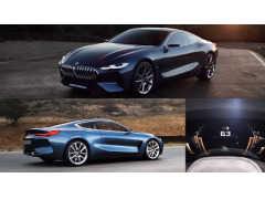 コンセプトカーじゃないの!! 市販車BMW8シリーズのカッコイイCM