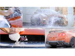 洗車マニアの心を揺さぶる!? 日産GT-R 2017モデルのプロモーション映像