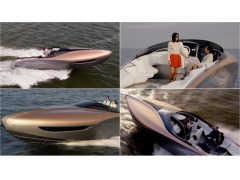 排気量10000cc !? レクサスがV8エンジン2機搭載したコンセプトボートを発表