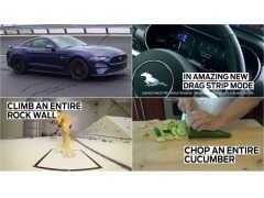4秒でなにができる? フォード「マスタング」なら時速100kmに到達!