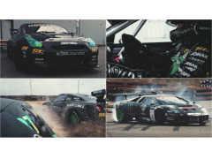 異次元ドリフト!! GT-Rとランボルギーニが白熱バトル