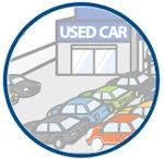 古物業法に基づく古物商の許可証を持つ、販売のプロフェッショナル。オークションで落札した車両などを展示場で販売している。