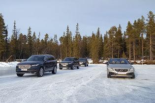 スウェーデンの雪上と氷上で、ボルボ最新SUVの真価を体感!