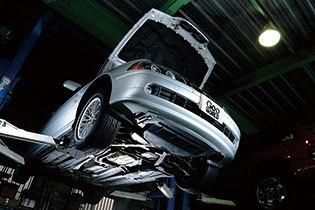 よく見かける「車検整備付」とは?