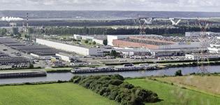 カングーが生産される工場