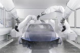 ヒトと環境に優しい新塗装工場の技術