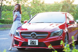 吉田由美×MERCEDES-BENZ CLA Shooting Brake