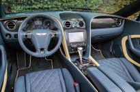 ベントレー コンチネンタル GT スピード コンバーチブル(コックピット)