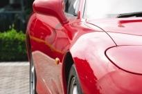 マツダ RX-7(車体側面の映り込みを観察する)