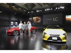 レクサス変革の象徴新型「LC」公開。世界初のマルチステージハイブリッド搭載