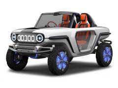 【東京モーターショー2017】次期ジムニーを想起させるコンパクトSUVがスズキから登場