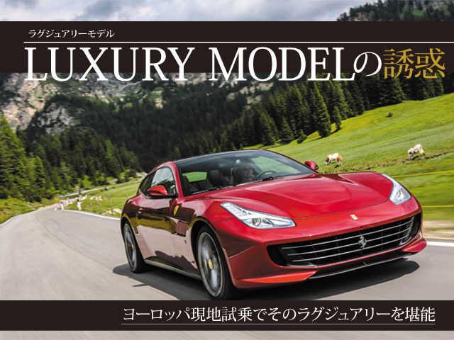 第1回目 LUXURY MODEL(ラグジュアリーモデル)の誘惑