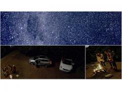 流星まではっきり見える! ボルボの360度動画の美しさ