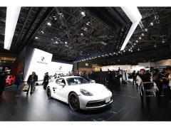 【東京モーターショー2017】ポルシェブースでは、911 GT3など最新モデルがずらり