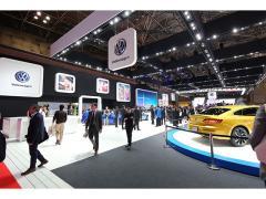 【東京モーターショー2017】VWブースでは電気自動車をはじめとする先進モデルを展示