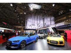 【東京モーターショー2017】アウディは5台の日本初公開モデルを展示