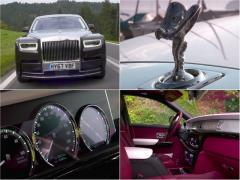 超高級車、新型ロールスロイス ファントムの存在感が異次元
