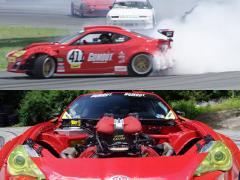 トヨタ 86にフェラーリ 458のエンジンを搭載したドリフトマシン誕生!