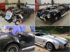 ファン絶賛! 青年が2年がかりで名車コブラを手探りで組み立てた!