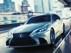 レクサス、新型「LS」が発売1カ月で月間目標の15倍超の受注を獲得