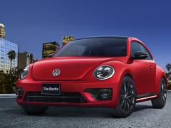 VW、「ザ・ビートル」の限定車「The Beetle Black Style」を発売